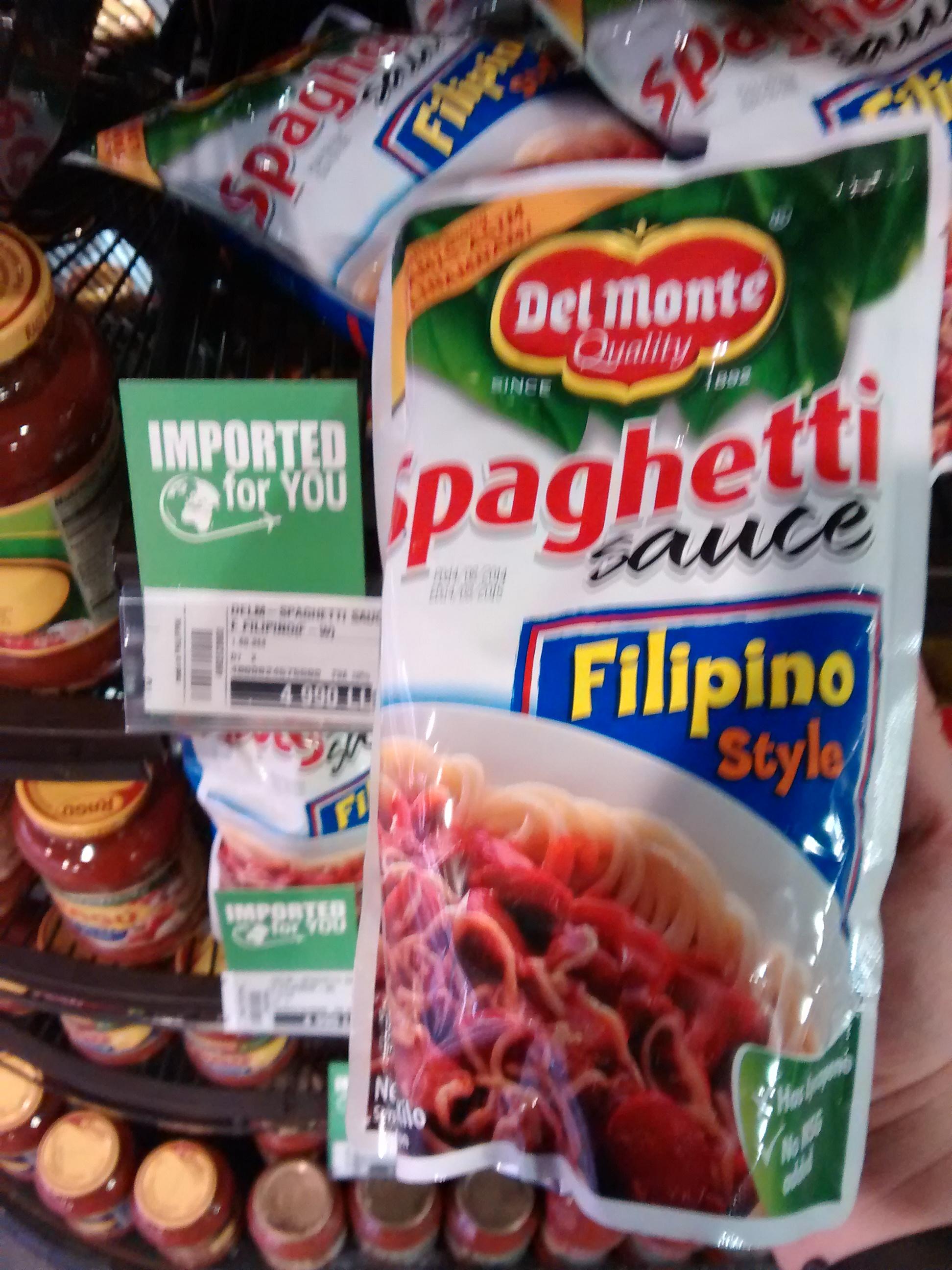 Del Monte Spaghetti Sauce Filipino Style 4 990 Lebanese Pounds